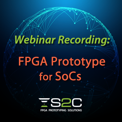 Webinar invitation FPGA Prototype for SOCs