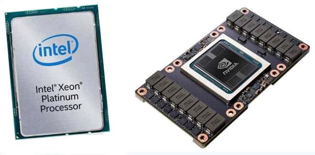 Xeon versus Nvidia