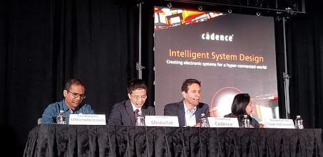 Cadence luncheon, panelists