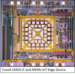 Fusing CMOS IC and MEMS Design for IoT Edge Devices – SemiWiki