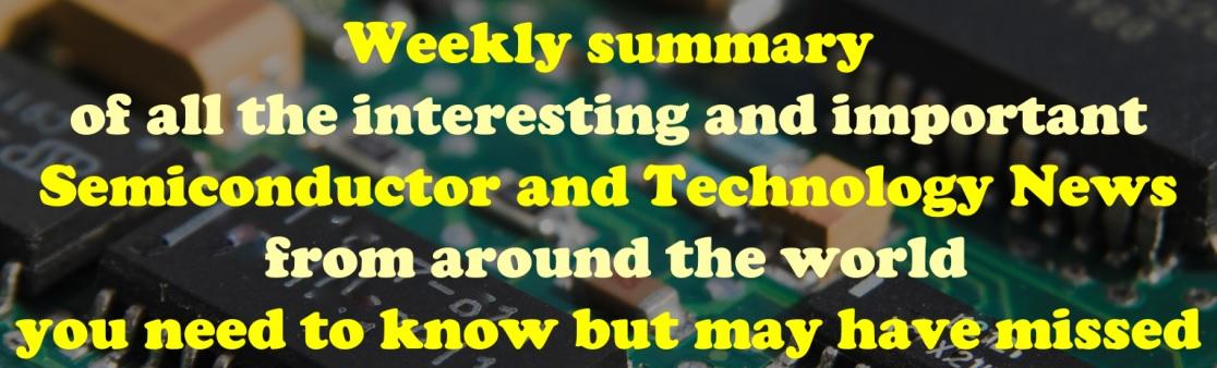 Semiconductor Weekly Summary 2
