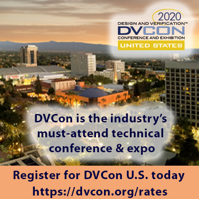DVCon 2020 Advertisement SemiWiki