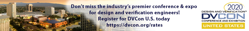 DVCon Banner 2020 SemiWiki