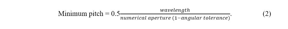 litho resolution equation 2