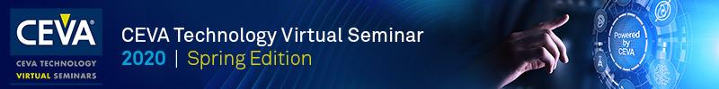 Ceva Virtual Seminar Banner SemiWiki 200518 800x100