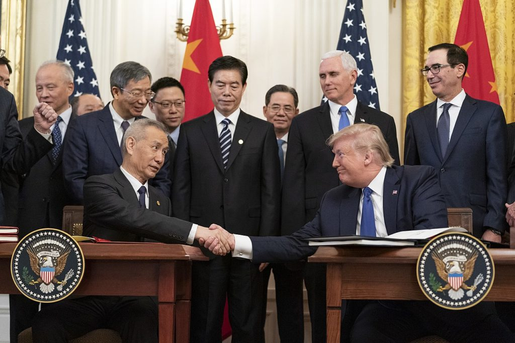 China US Trade Agreement 2020