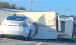 Tesla Driving on the Edge