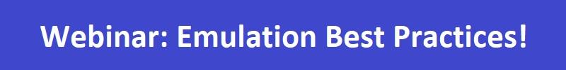 Emulation Webinar SemiWiki