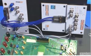 FQSFP DD to NovaRay® Flyover® SI Evaluation Kit