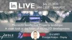 MicroLED IP LinkedIn Live July2020 1400x700 1024x576
