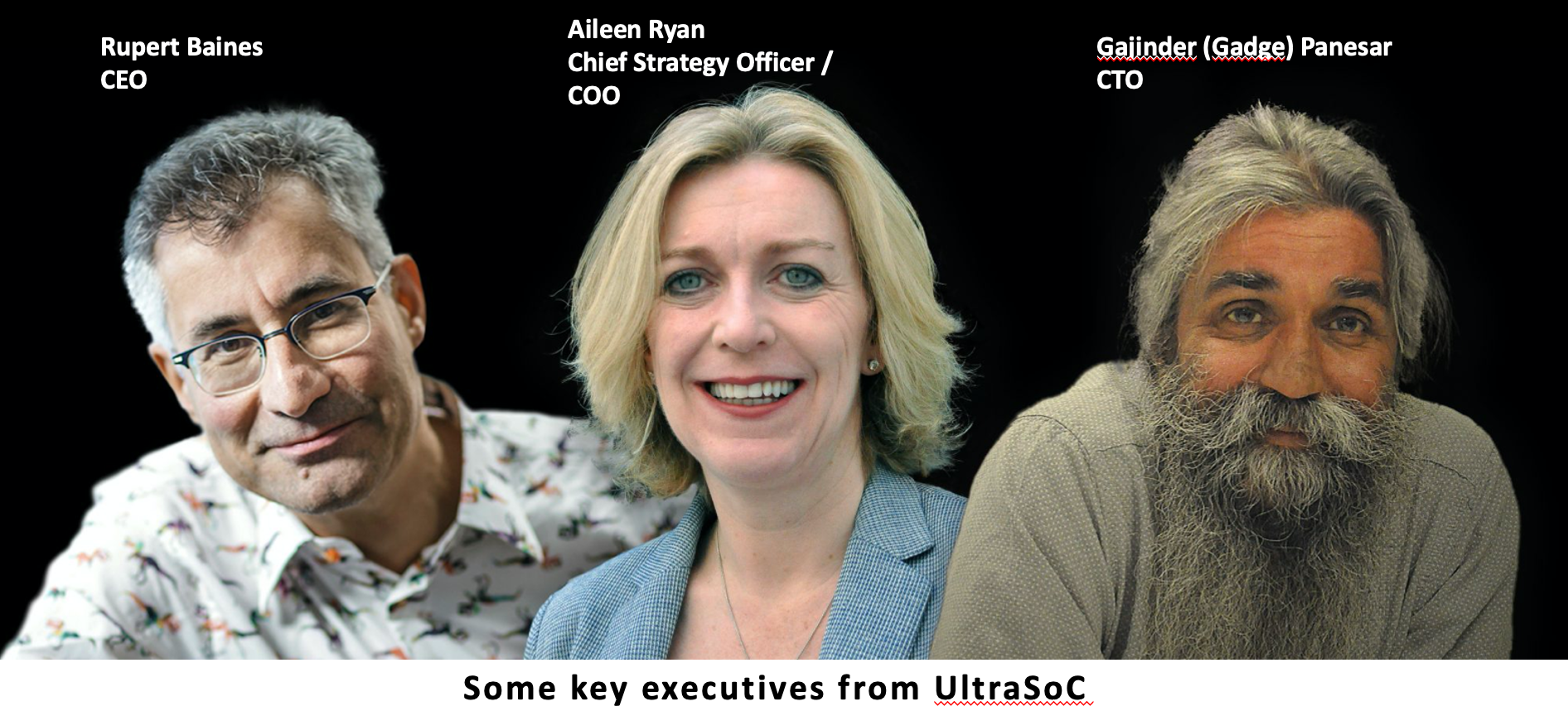 Some Key Executives from UltraSoC
