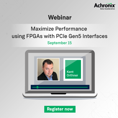Achronix Webinar PCIe Gen5