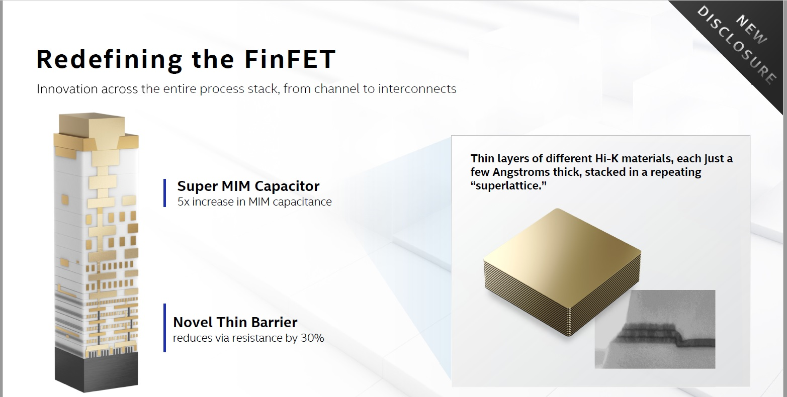 Redefining the FinFET Intel