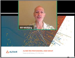 Bill Nitzberg CRO of Altair PBS Works