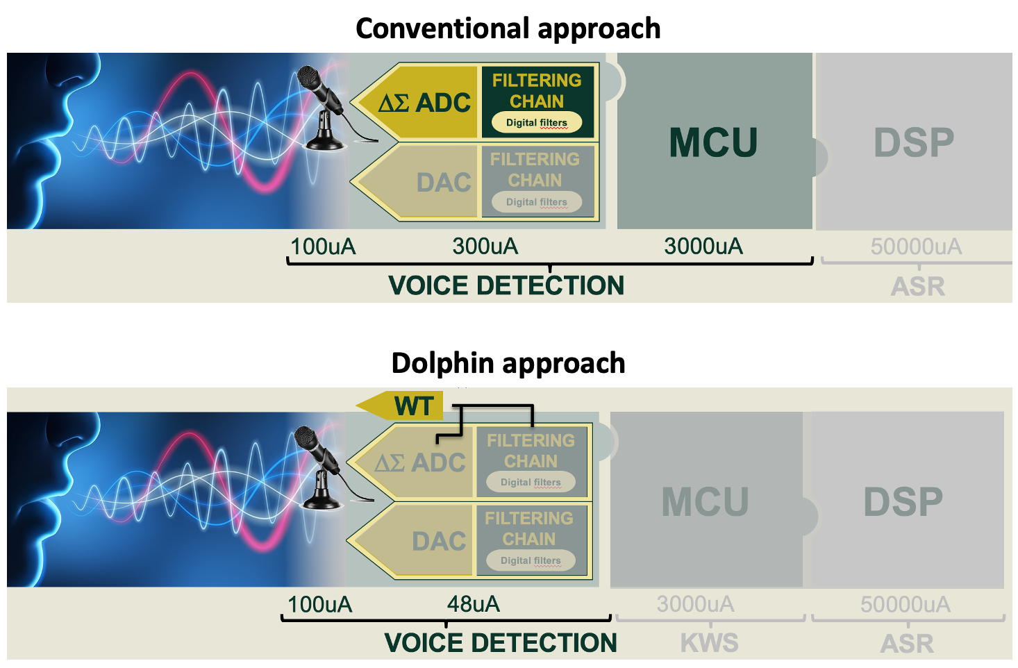 Voice Detection Dolphin Design Approach