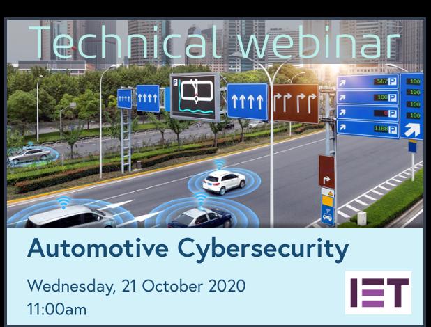 Technical webinar IET 21 Oct 2020