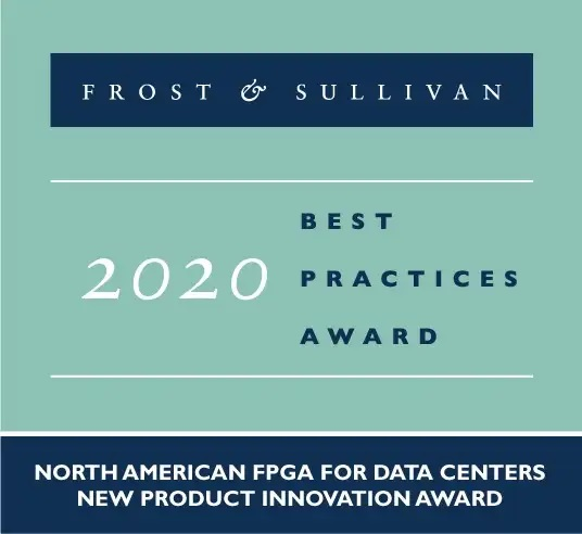 Frost and Sullivan 2020 Award Achronix