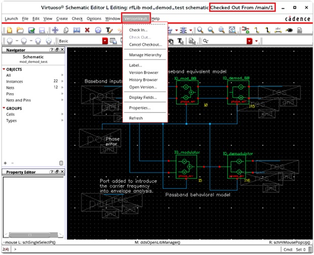 VersionVault Cadence Integration 3