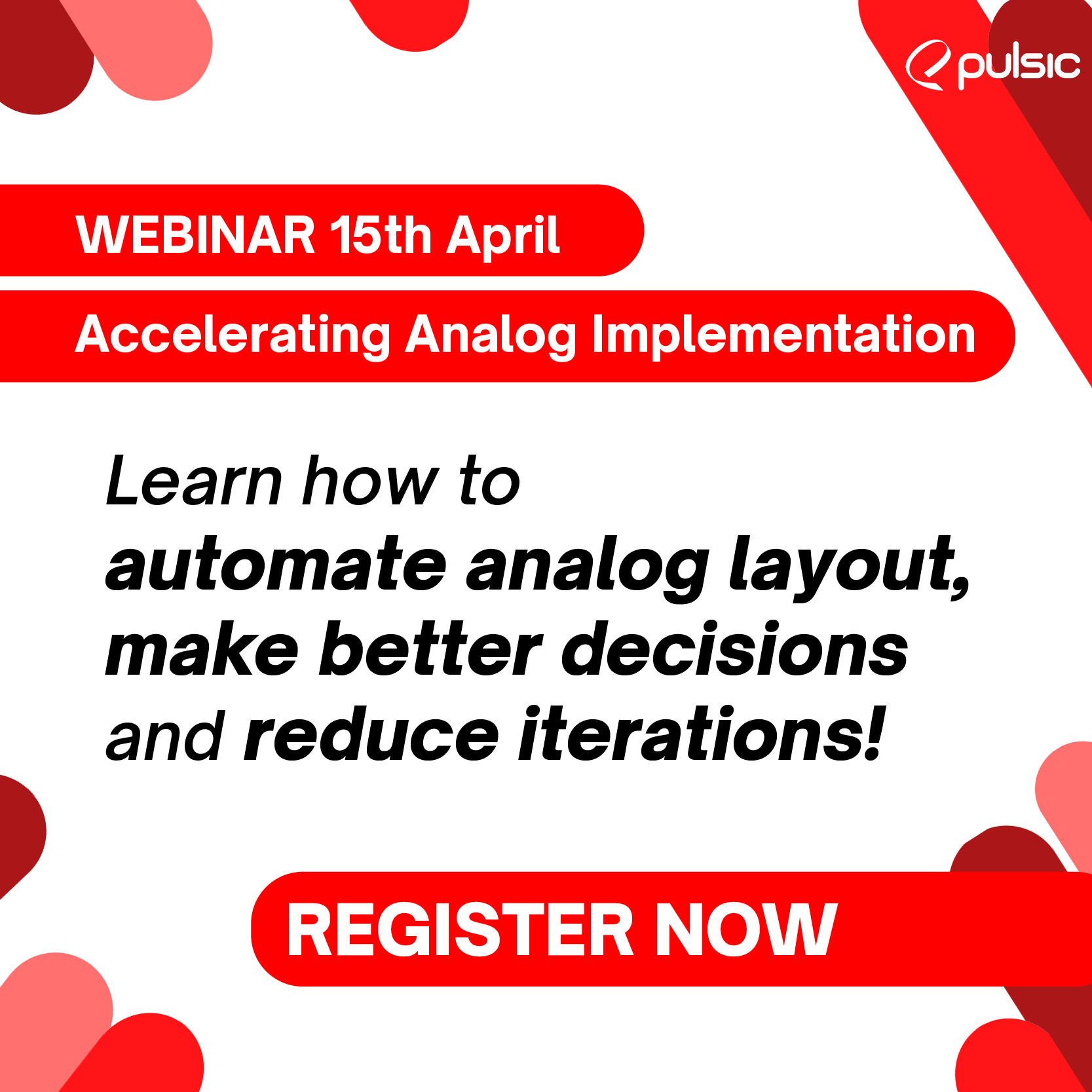 Accelerating Analog Implementation