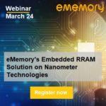 eMemory RRAM Webinar Semiwiki