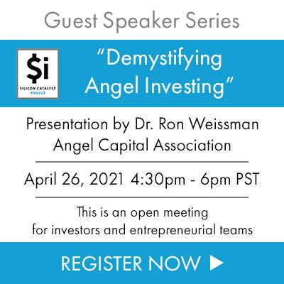 SiC Angels GuestSpeakerSeries April2021 Weissman SemiWiki 400x400