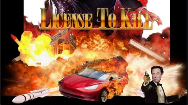 Tesla license to Kill