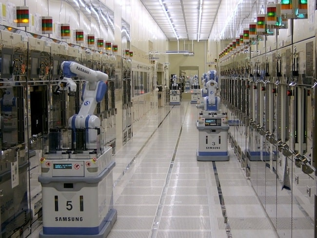 samsung robots, silicon to systems