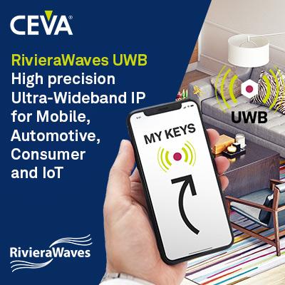 CEVA UWB Banner SemiWiki 210621 400x400