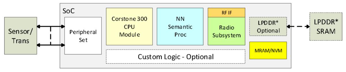 SFA 100 block diagram