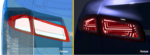 Ansys Speos CAD and Live Preview Rear Lamp view 2