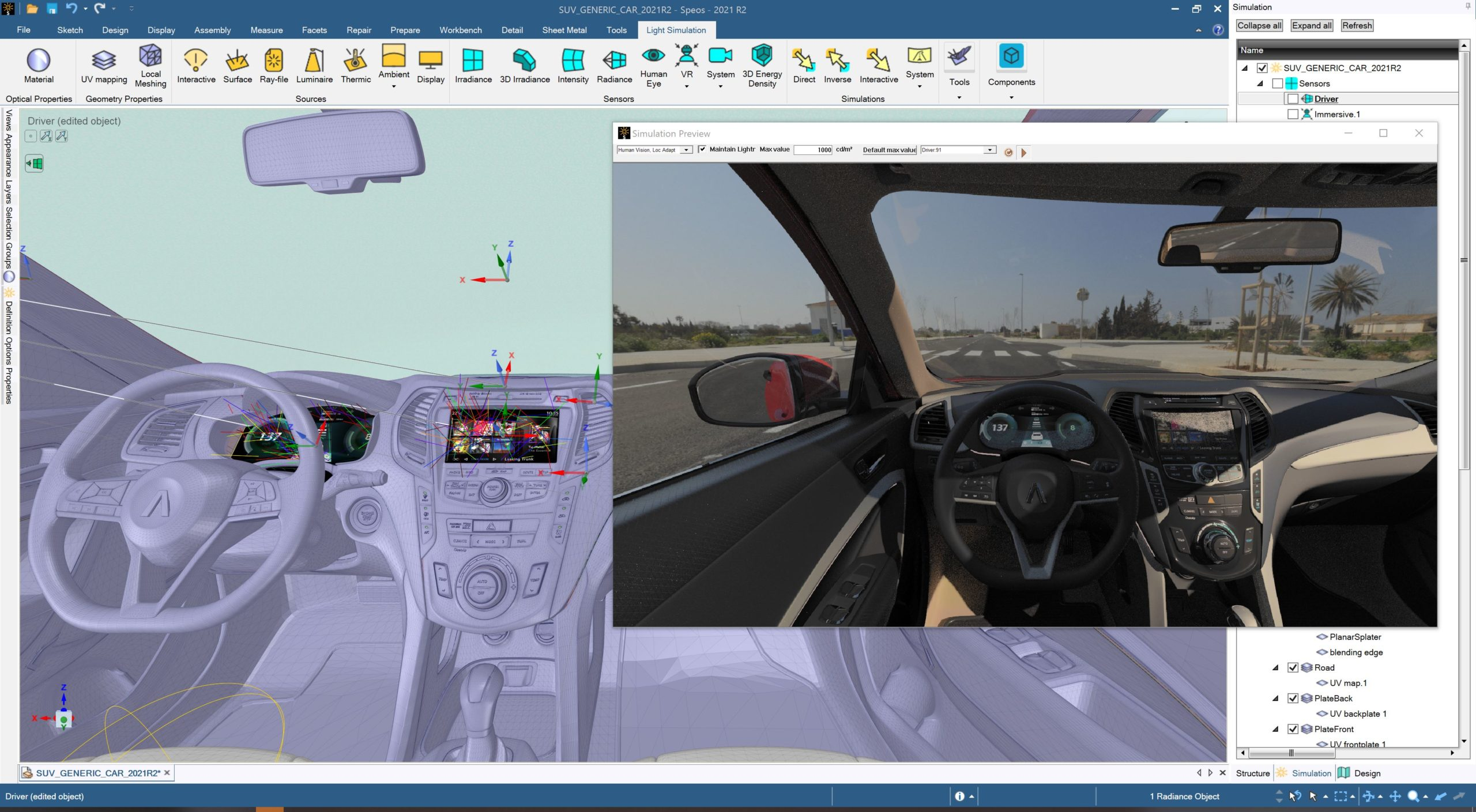 Extreme Optics Innovation with Ansys SPEOS, Powered by NVIDIA GPUs